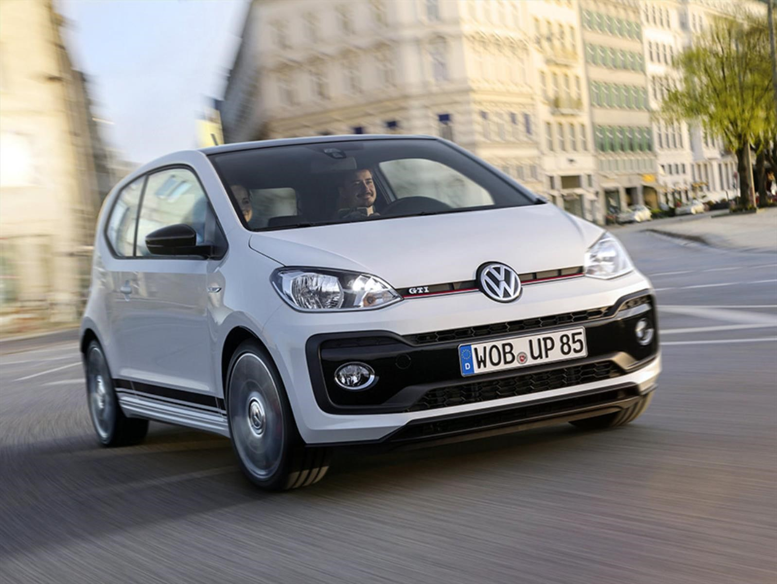 Volkswagen up! GTI, con el alma del Golf GTI original