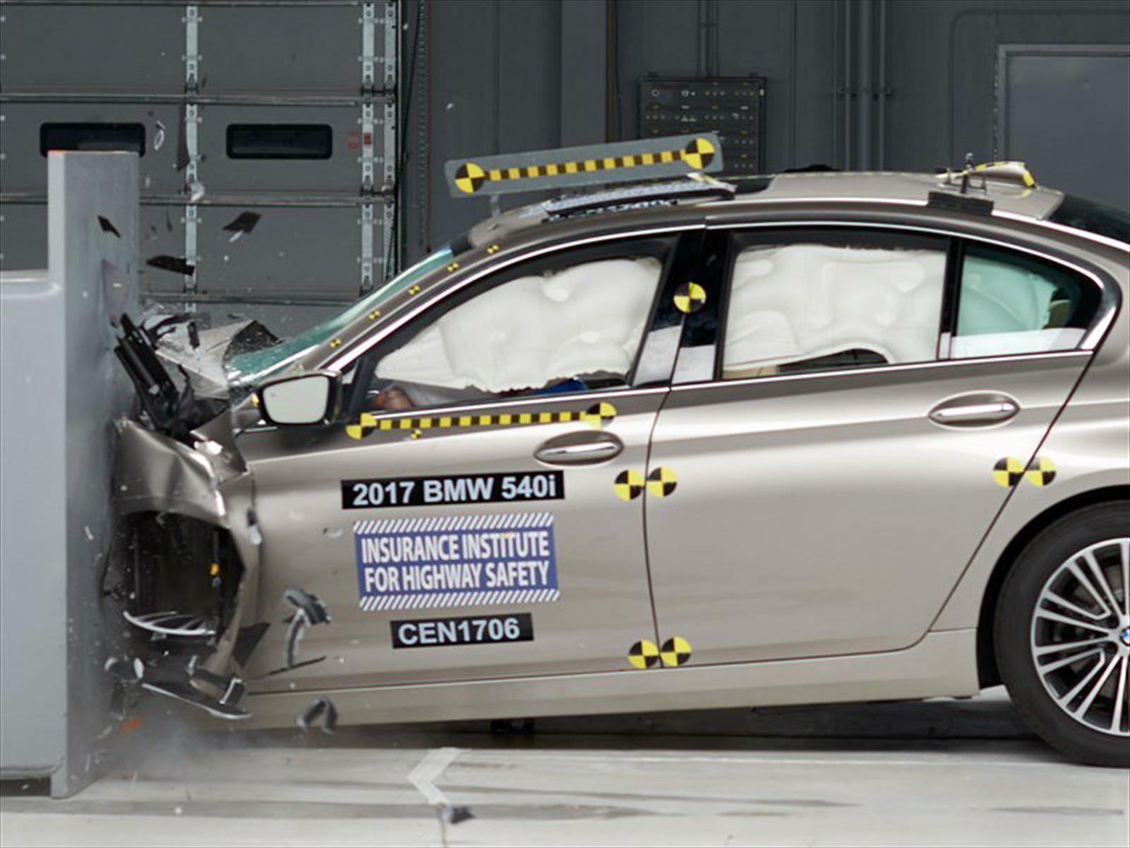 Top Safety Pick + para el BMW Serie 5 2017