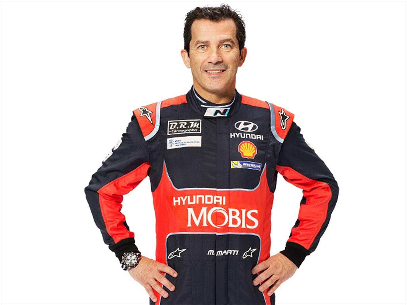 Marc Martí, copiloto de Dani Sordo, se presentará en Chile para realizar clases de navegación