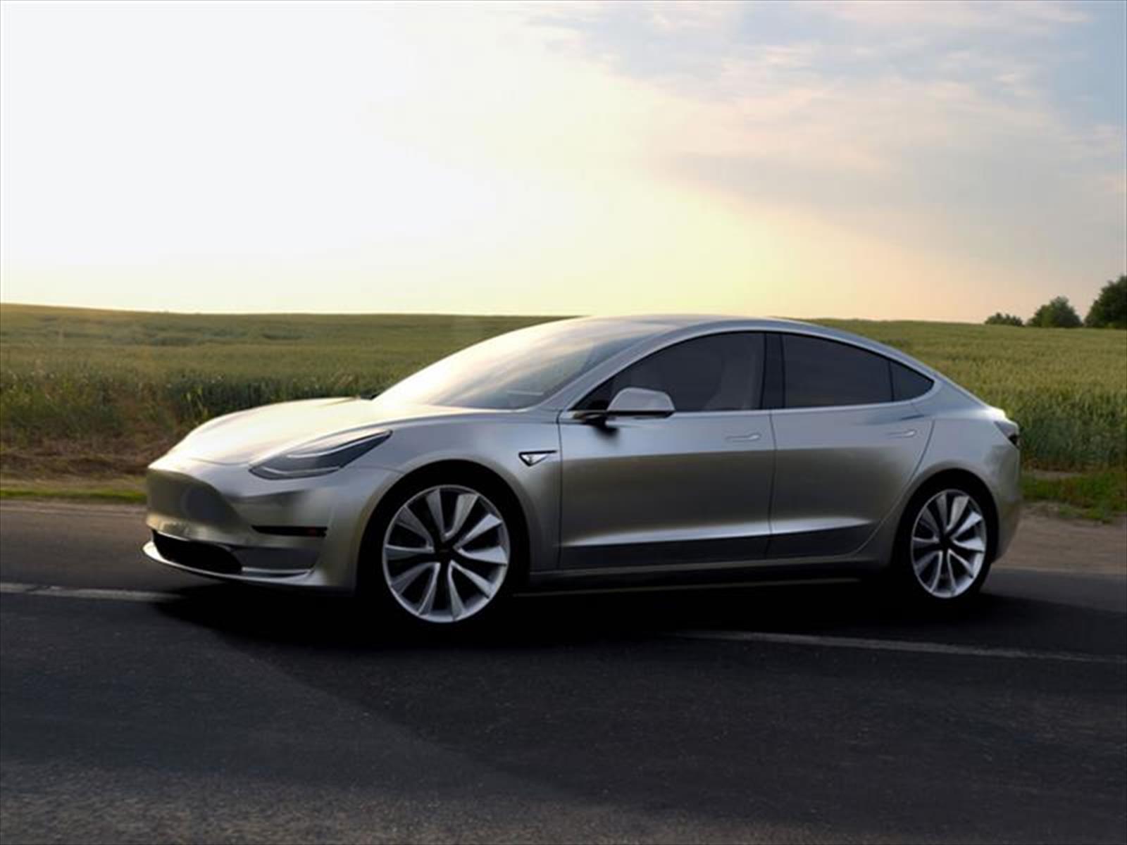 Número de órdenes del Tesla Model 3 fue menor al previsto inicialmente