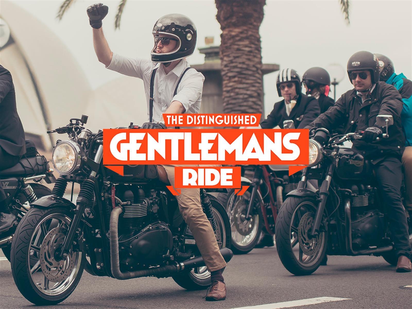 The Distinguished Gentleman's Ride tendrá este domingo una tercera edición