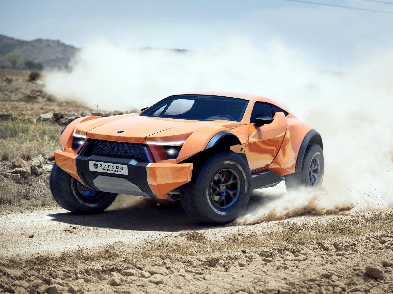 Zarooq SandRacer 500 GT, listo para el desierto