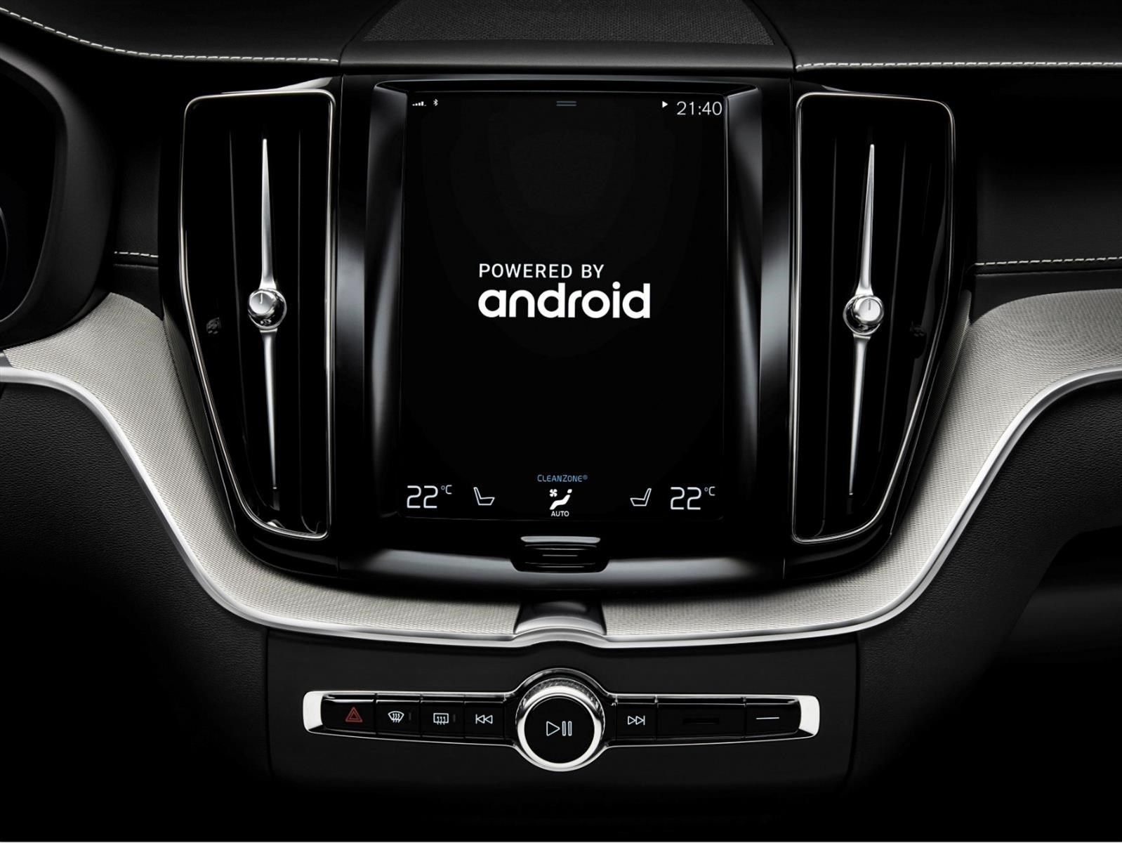 Volvo se asocia con Google para sumar Android en sus modelos