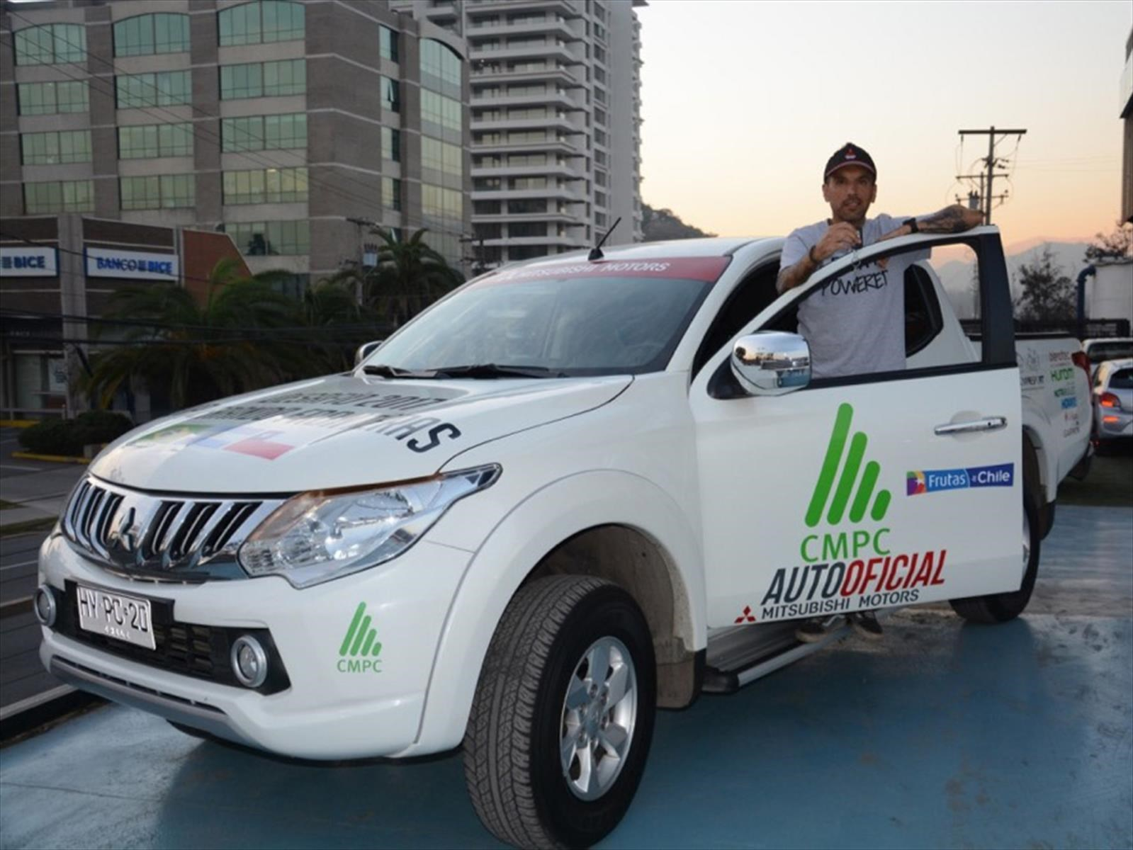 Mitsubishi L200 correrá con Matías Anguita desde Brasil a Chile