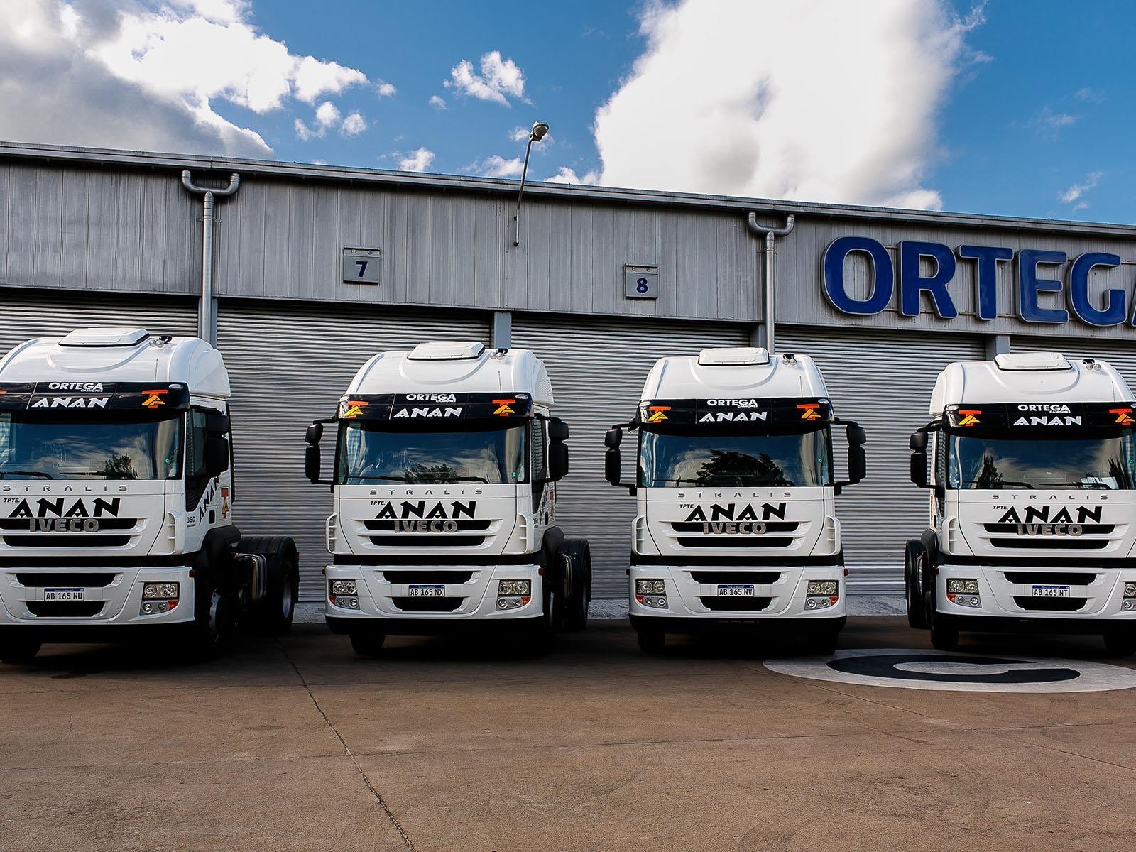 Transporte Anan actualiza su flota con seis IVECO Stralis