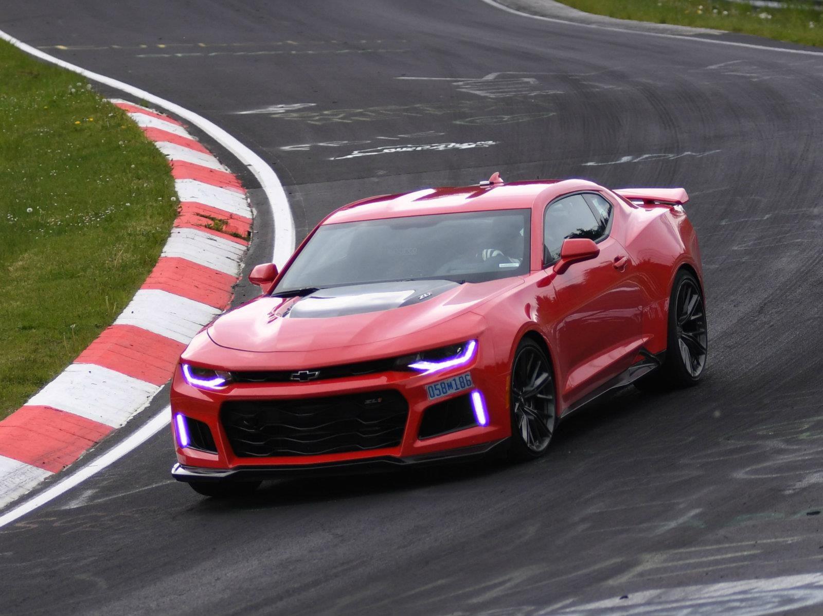 El nuevo Chevrolet Camaro ZL1 es el mata superdeportivos de Nurburgring