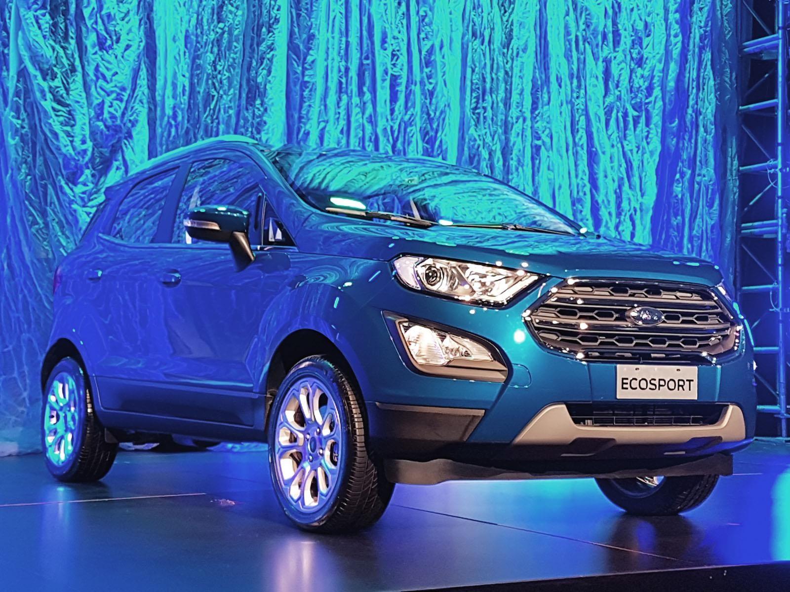 Ford Ecosport 2018 se renueva