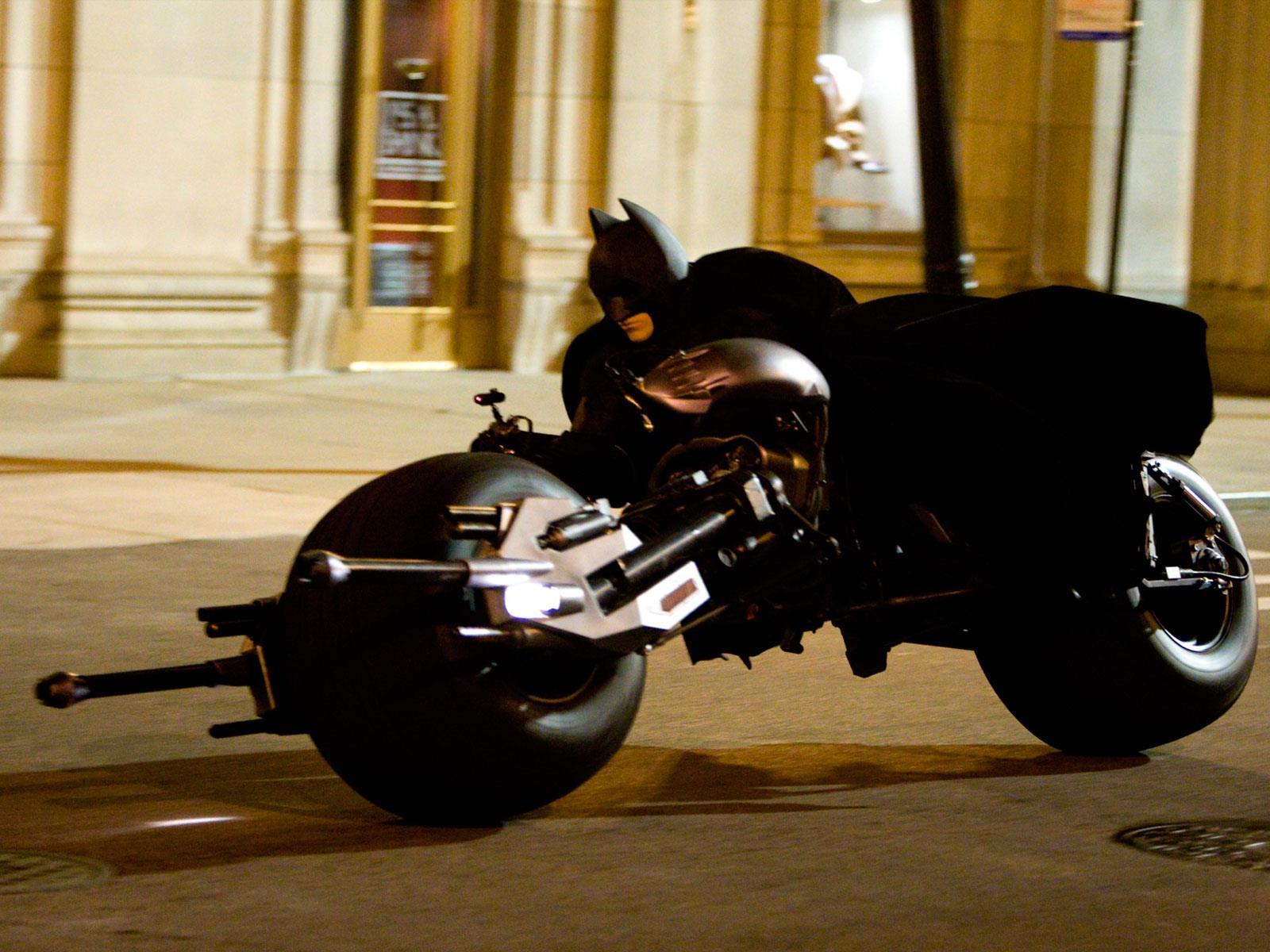 Ponen a la venta el increíble Batpod de Batman