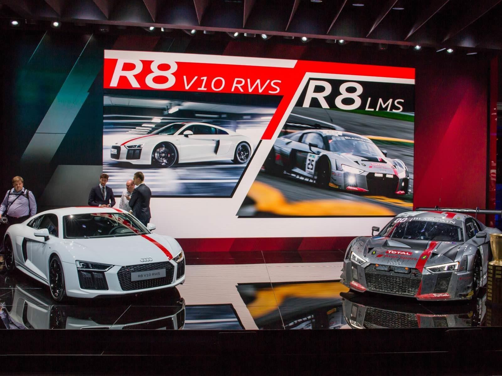 Audi R8 V10 RWS debuta