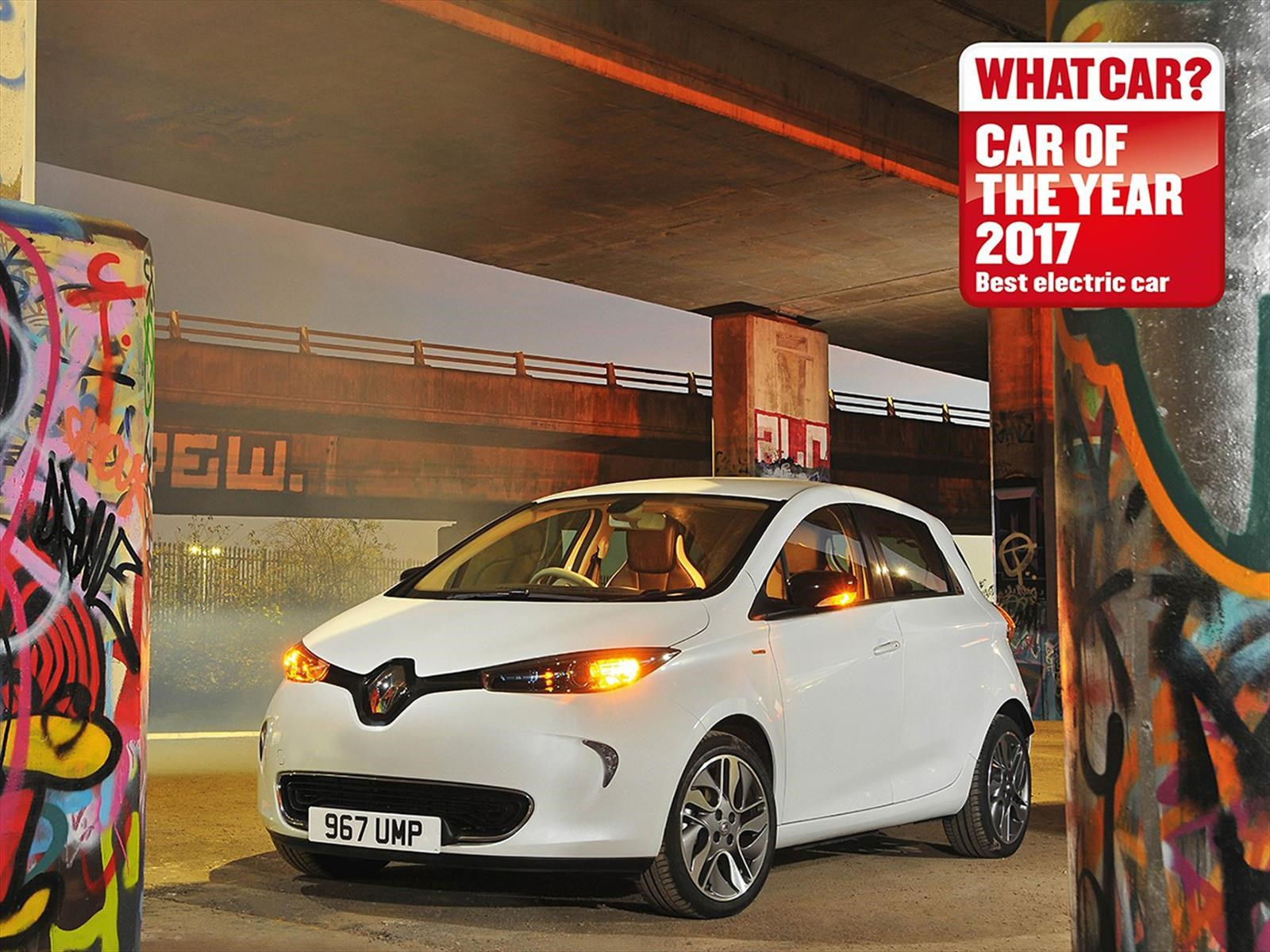 Renault Zoe es elegido auto eléctrico del año por cuarta vez consecutiva en Londres