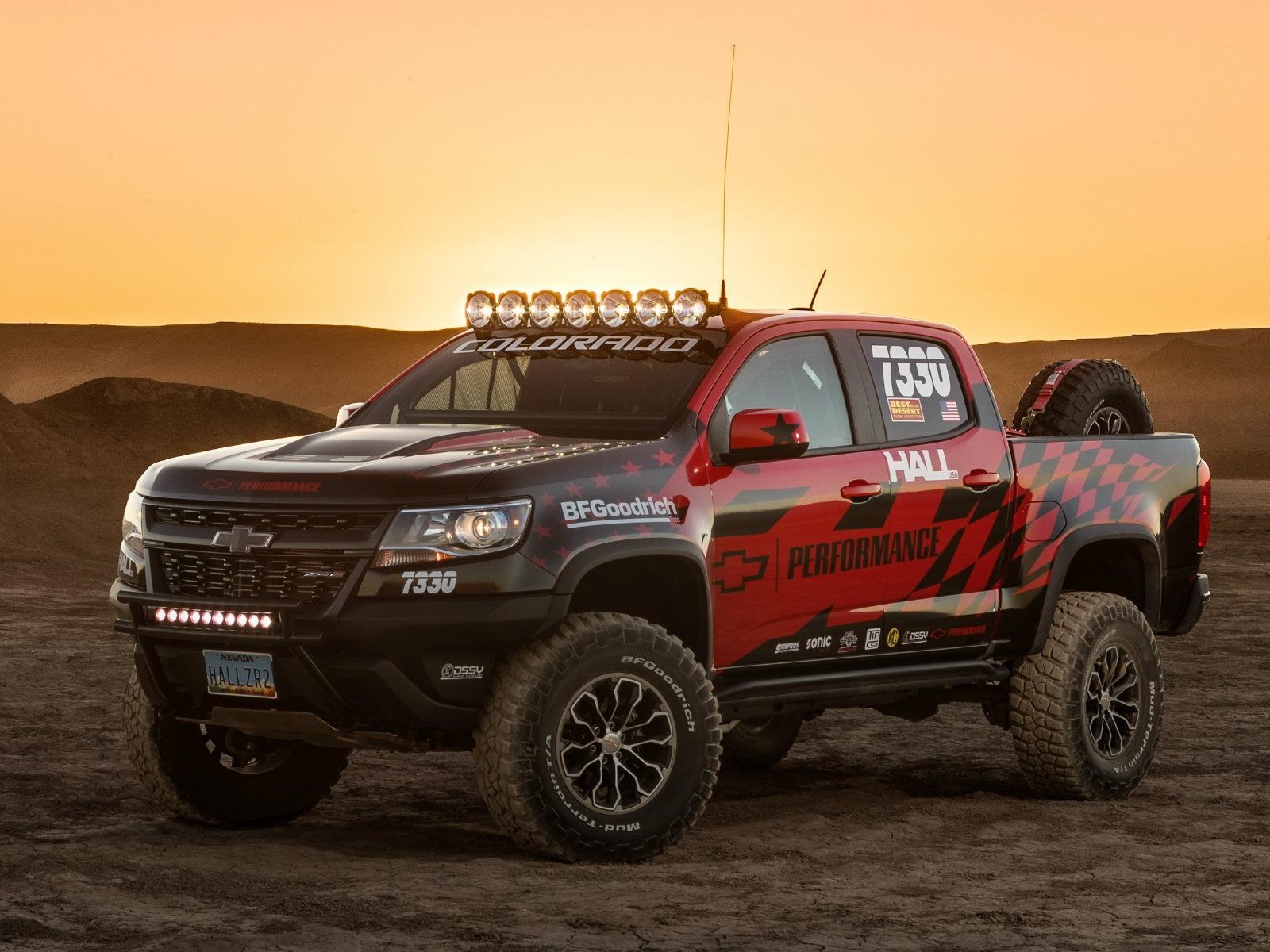 Hall Racing pone a competir al Chevrolet Colorado ZR2