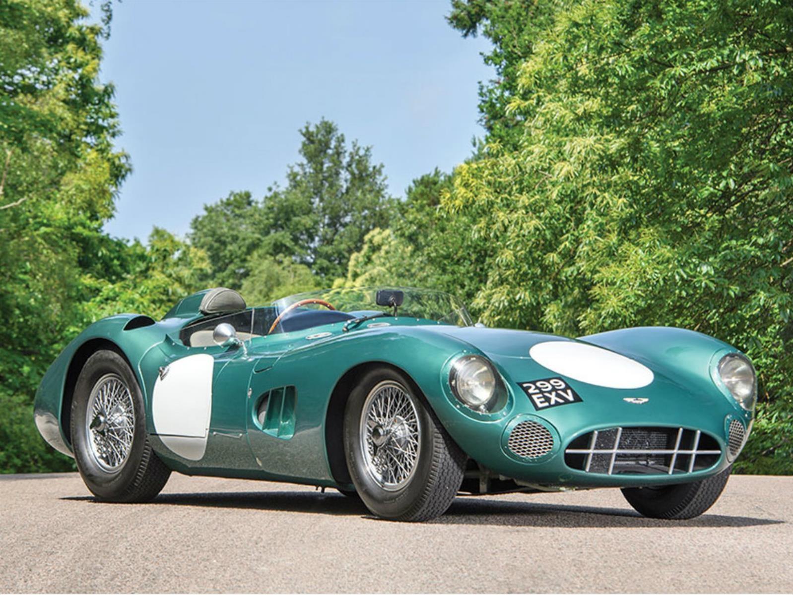 Este Aston Martin DBR1 1956 es el auto inglés más caro del mundo