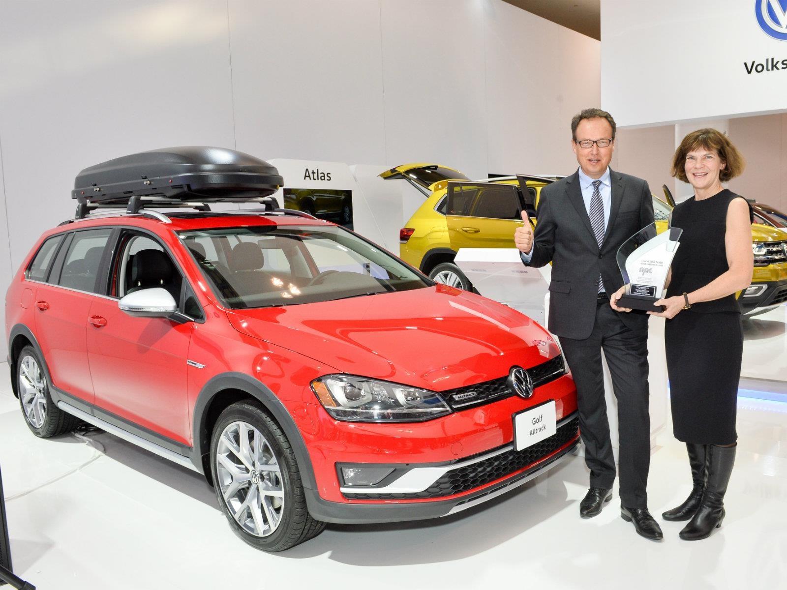 Canadá elige al Volkswagen Golf Alltrack como Auto del Año 2017