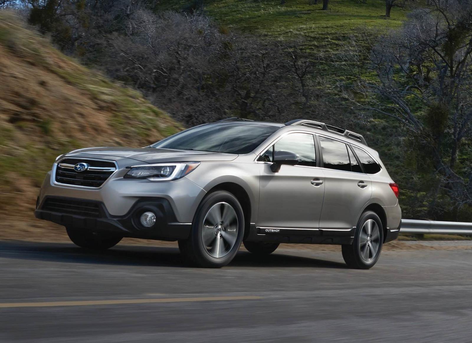 Este es el restyling de la Subaru Outback