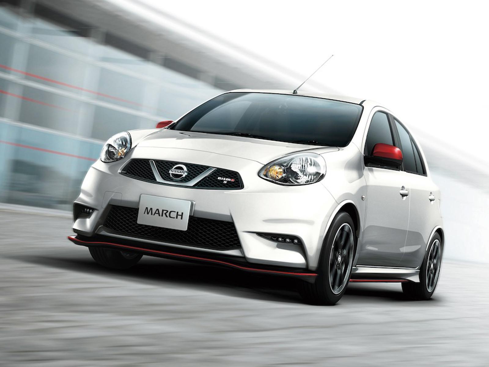Nissan March modificado por NISMO