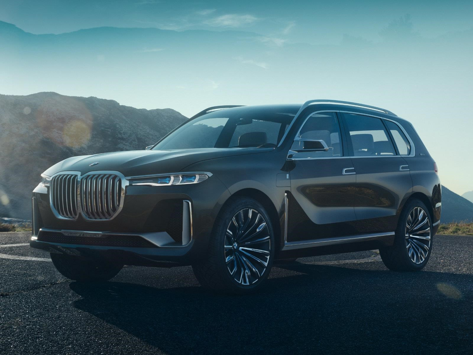 BMW Concept X7 iPerformance debuta