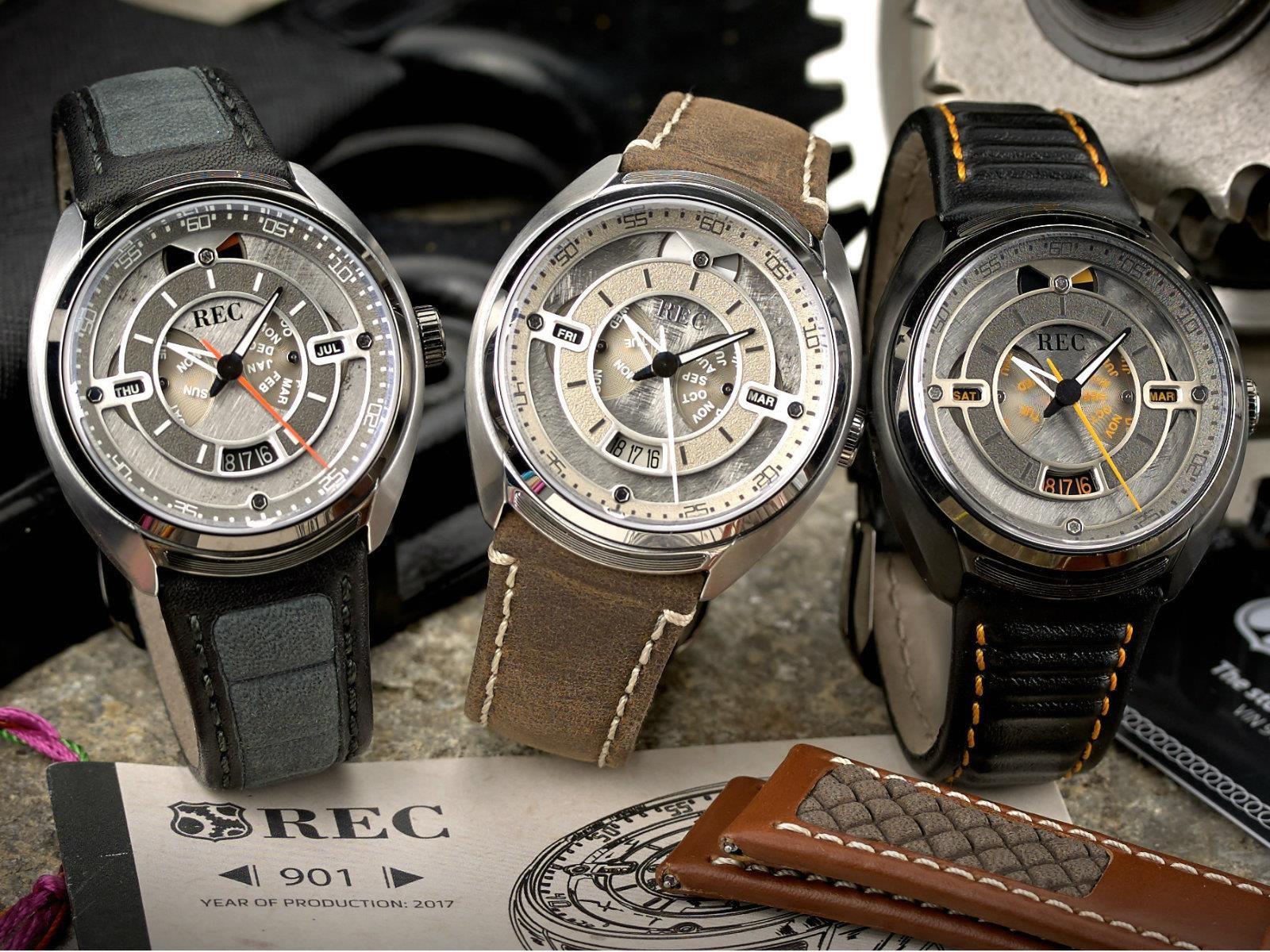 REC Watches presenta un reloj inspirado en el Porsche 911