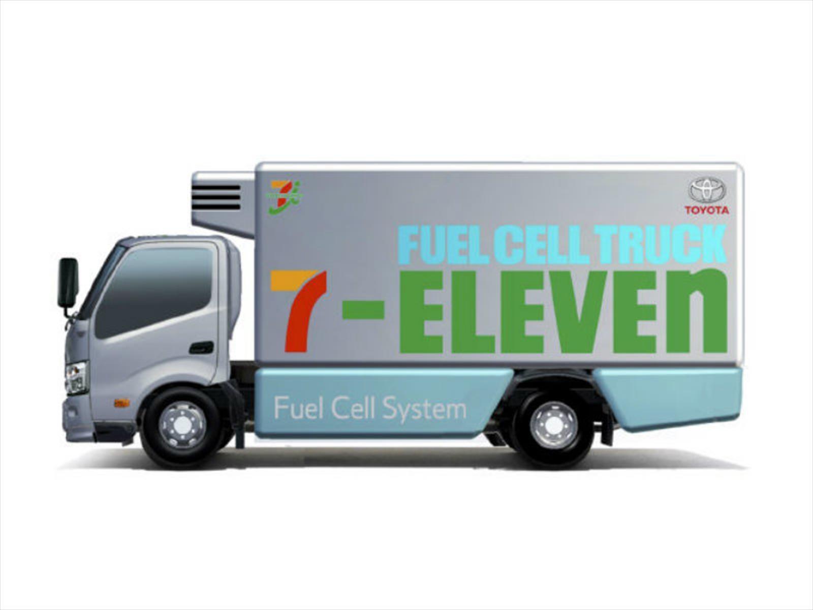 Toyota y 7-Eleven trabajarán en el desarrollo de vehículos de hidrógeno