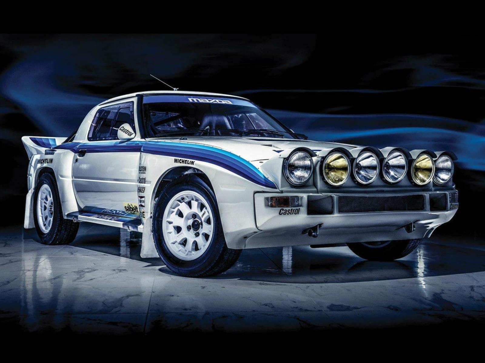 Ponen a la venta este Mazda RX-7 Group B de 1985