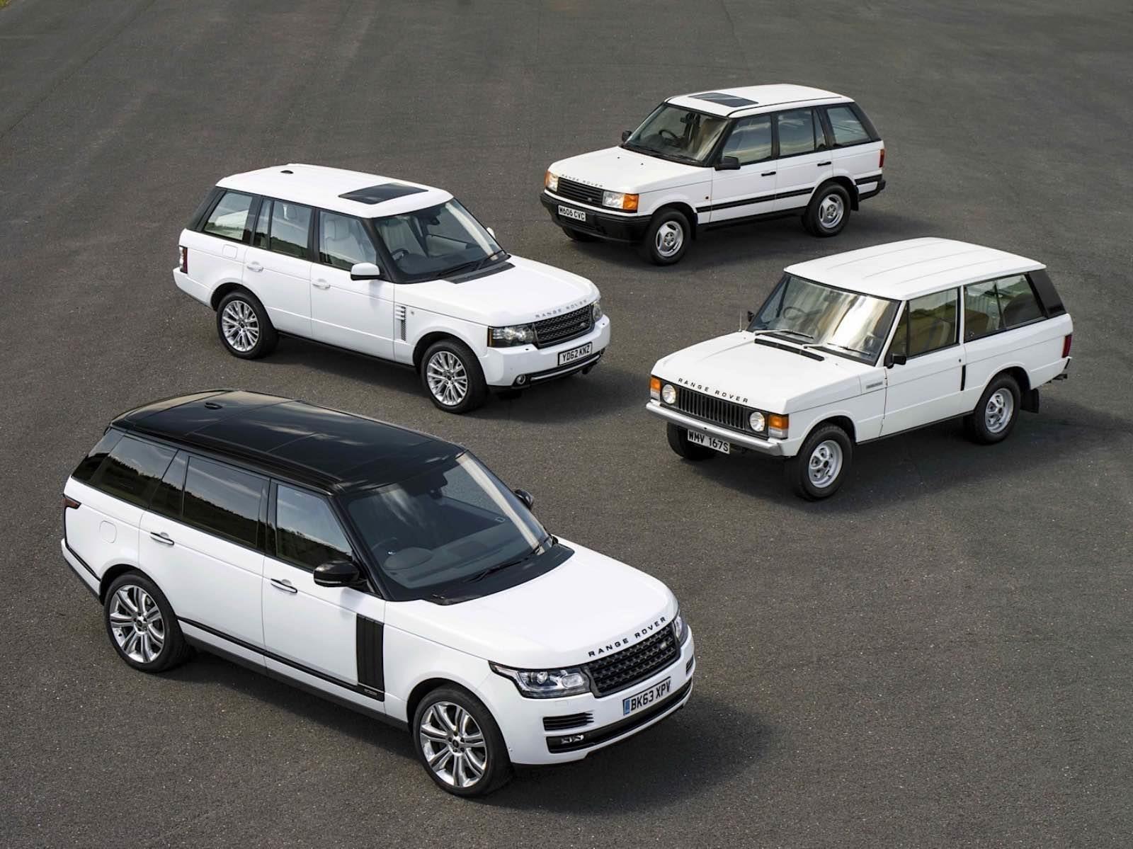 Video: la evolución del Range Rover