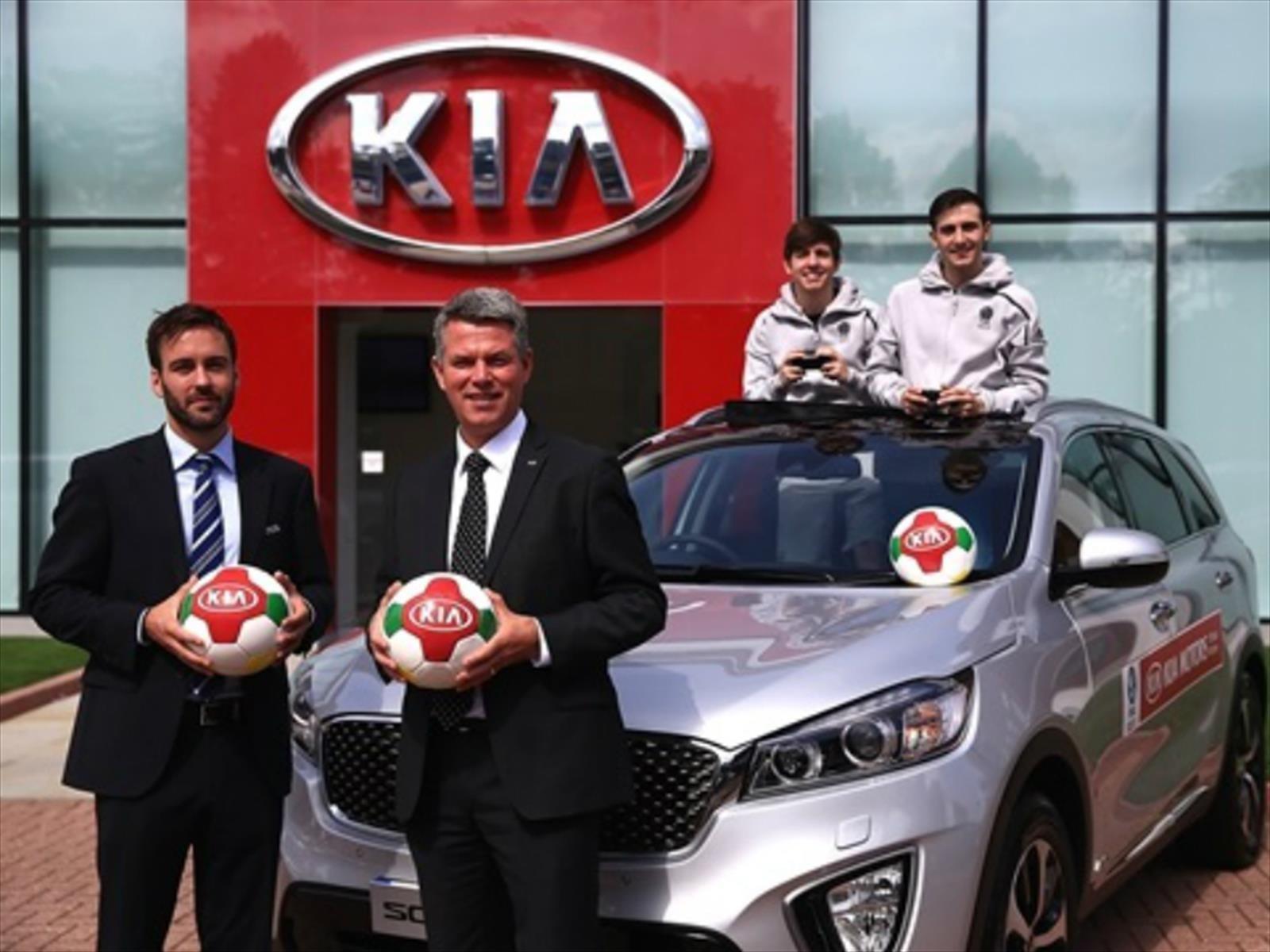 KIA es el nuevo patrocinador oficial de la UEFA Europa League