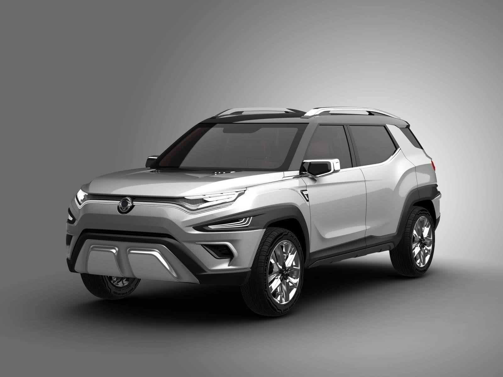 SsangYong XAVL concept se presenta