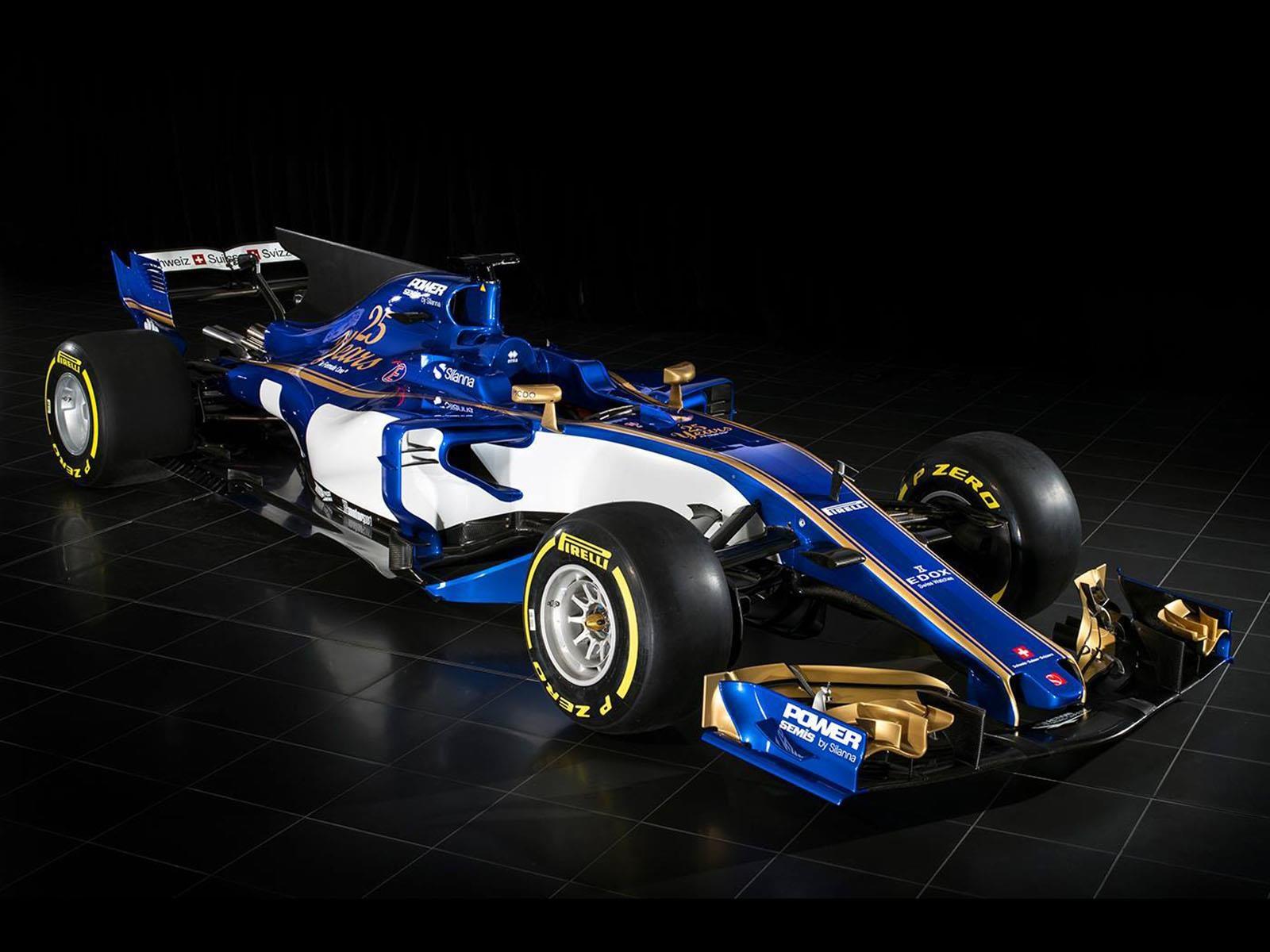 F1 2017: Sauber presenta su nuevo auto