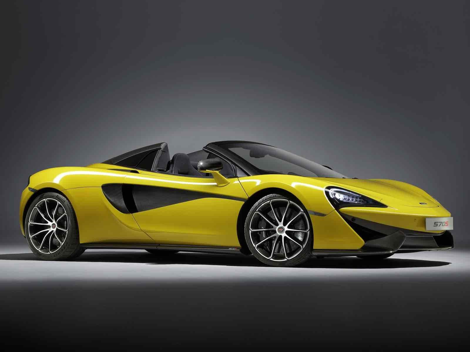 McLaren 570S Spider, la potencia convertible