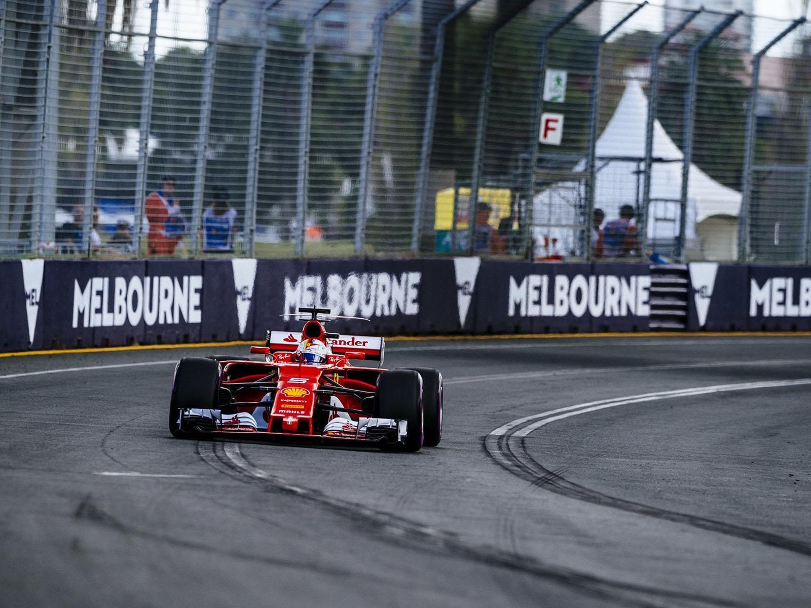 F1 2017: Vettel se queda con la victoria en el GP de Australia