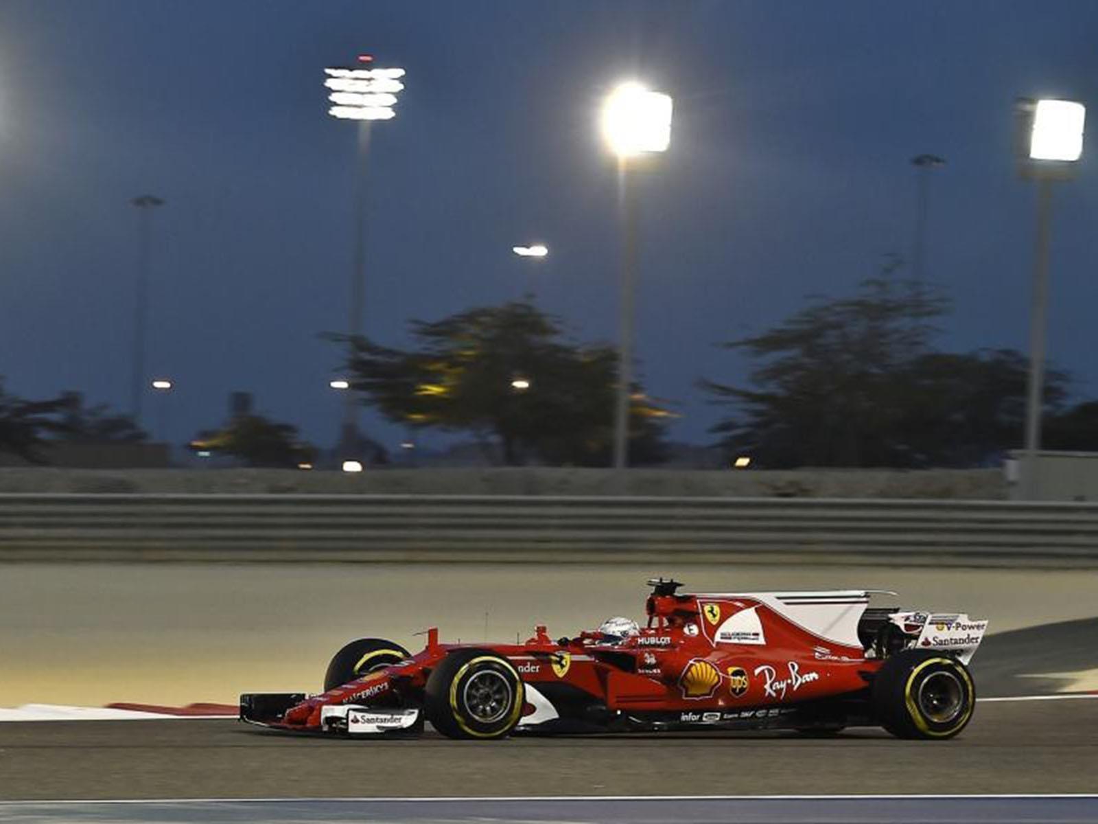 F1 GP de Bahrein 2017: el turno de Vettel