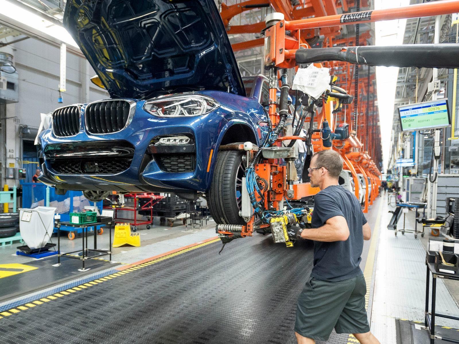 16 cosas que debes saber de la planta que produce la nueva BMW X3