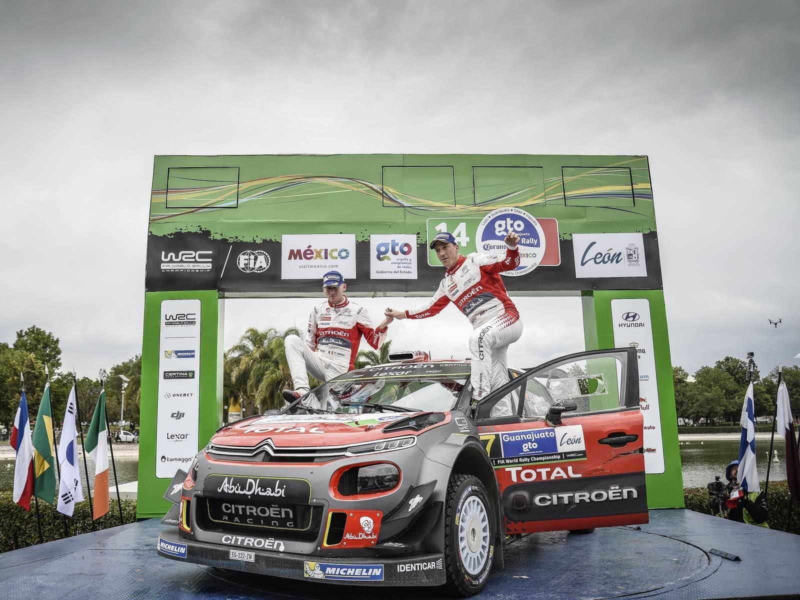 Citroën Total Abu Dhabi WRT se llevó el Rally de México 2017