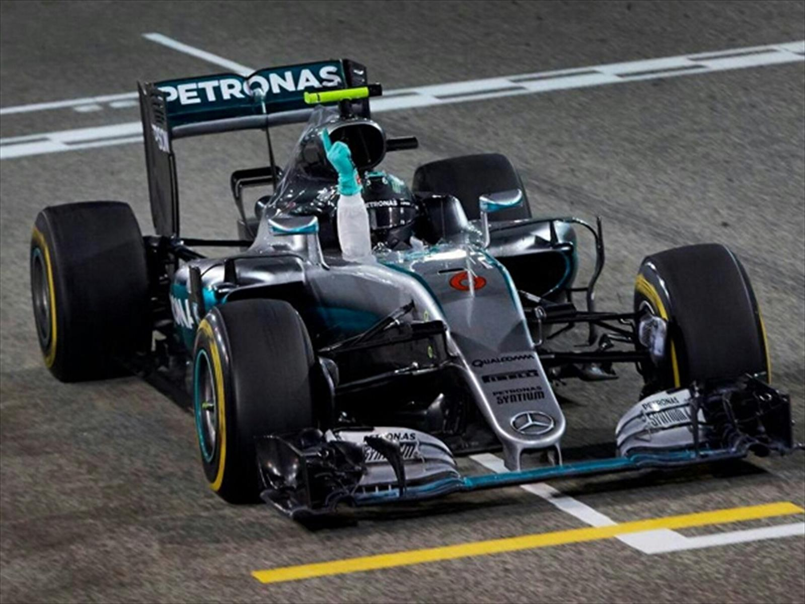 F1: GP de Bahrein, Rosber y Mercedes siguen al mando