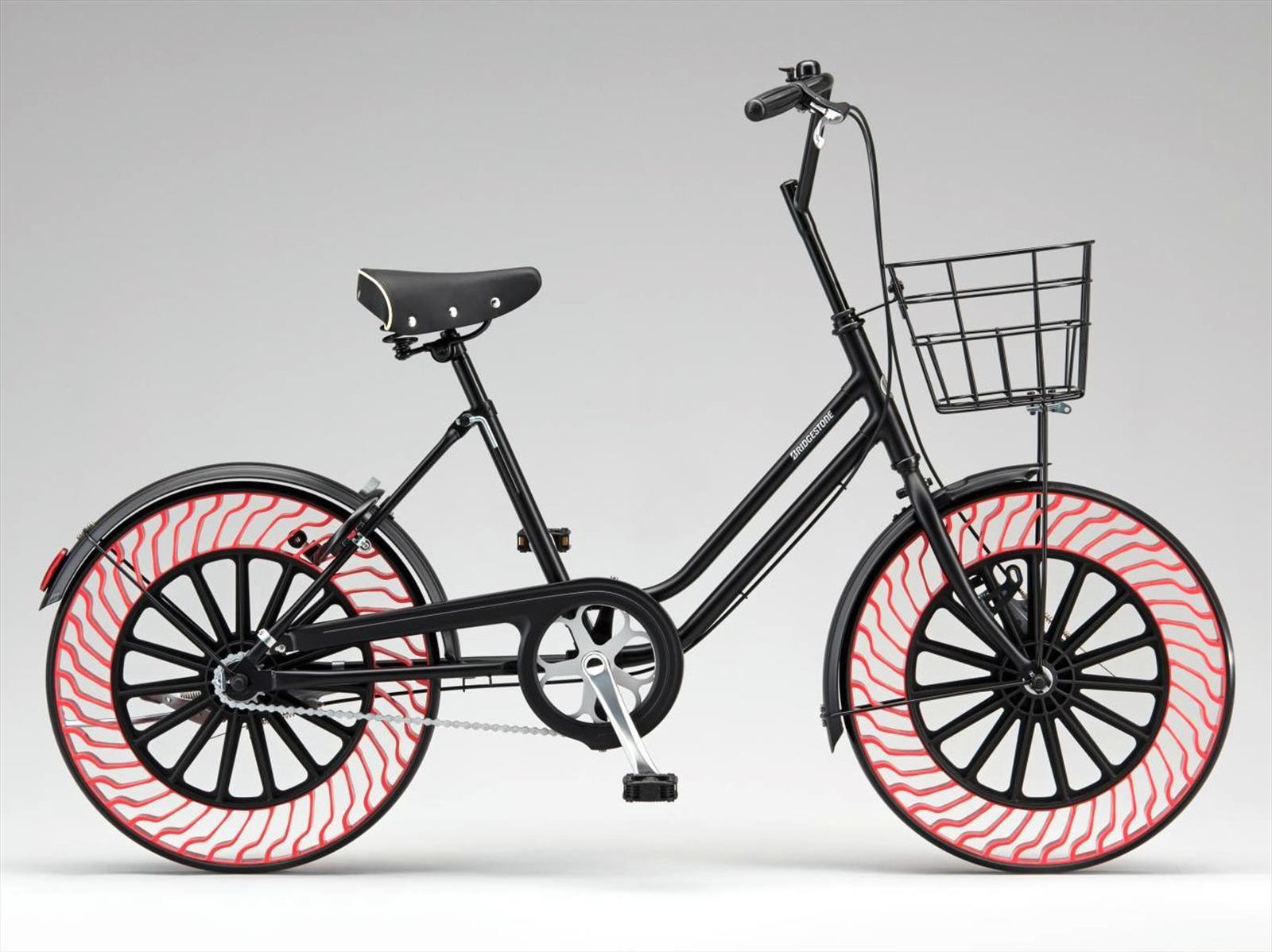 Bridgestone presenta llantas que no se ponchan para bicicletas
