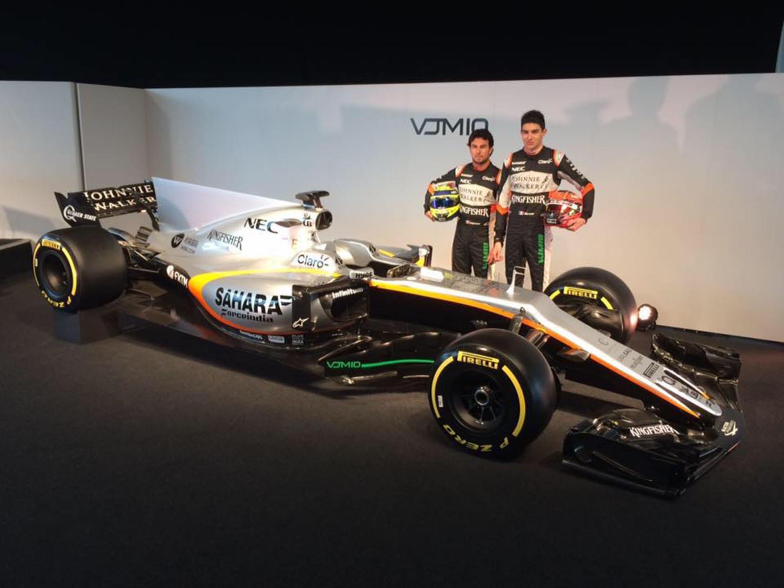 Sahara Force India, presenta el bólido de Checo Pérez para 2017