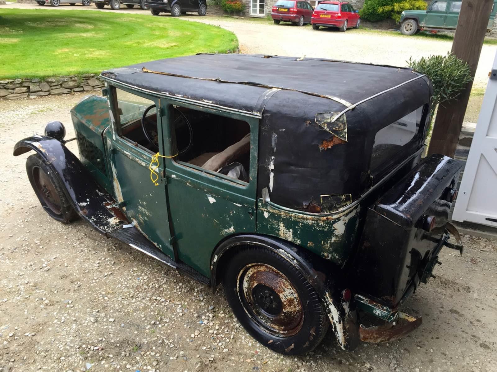 Un Mathis de 1931 sale de las sombras