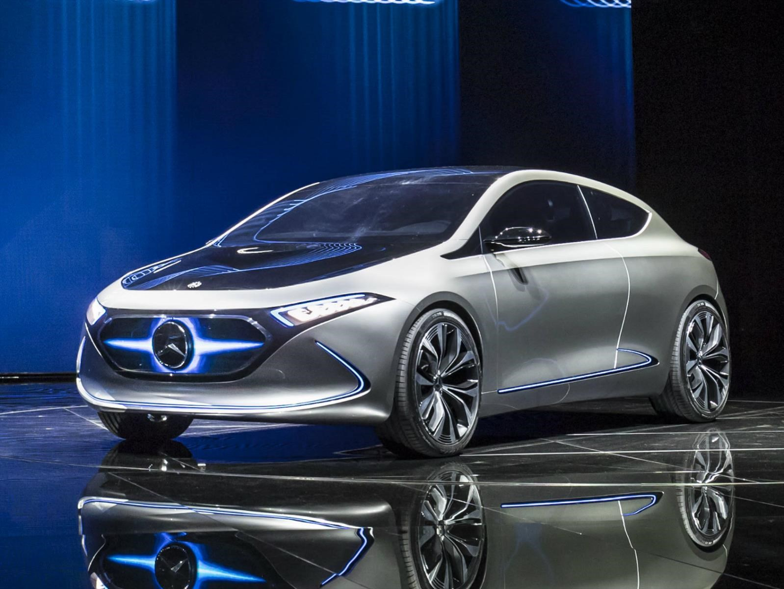 Mercedes-Benz EQA Concept, eléctrico alemán en el IAA 2017