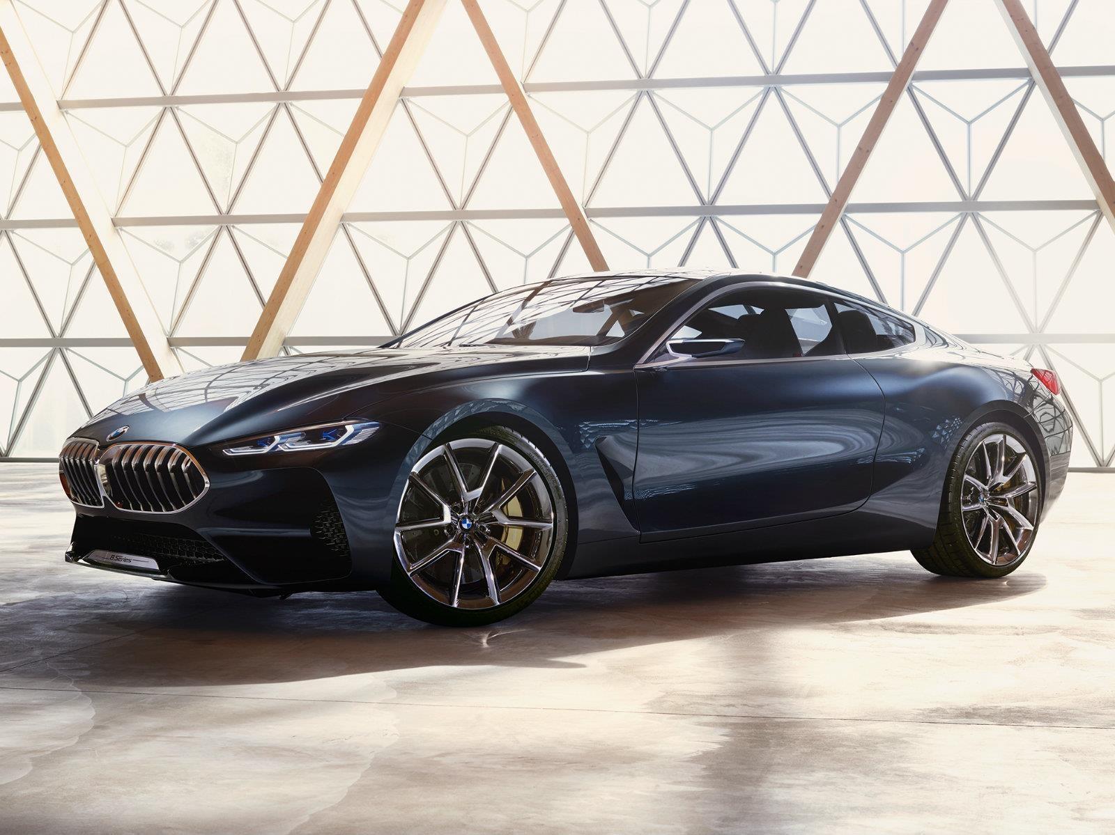 BMW Serie 8 concept, una cupé que se viene en 2018
