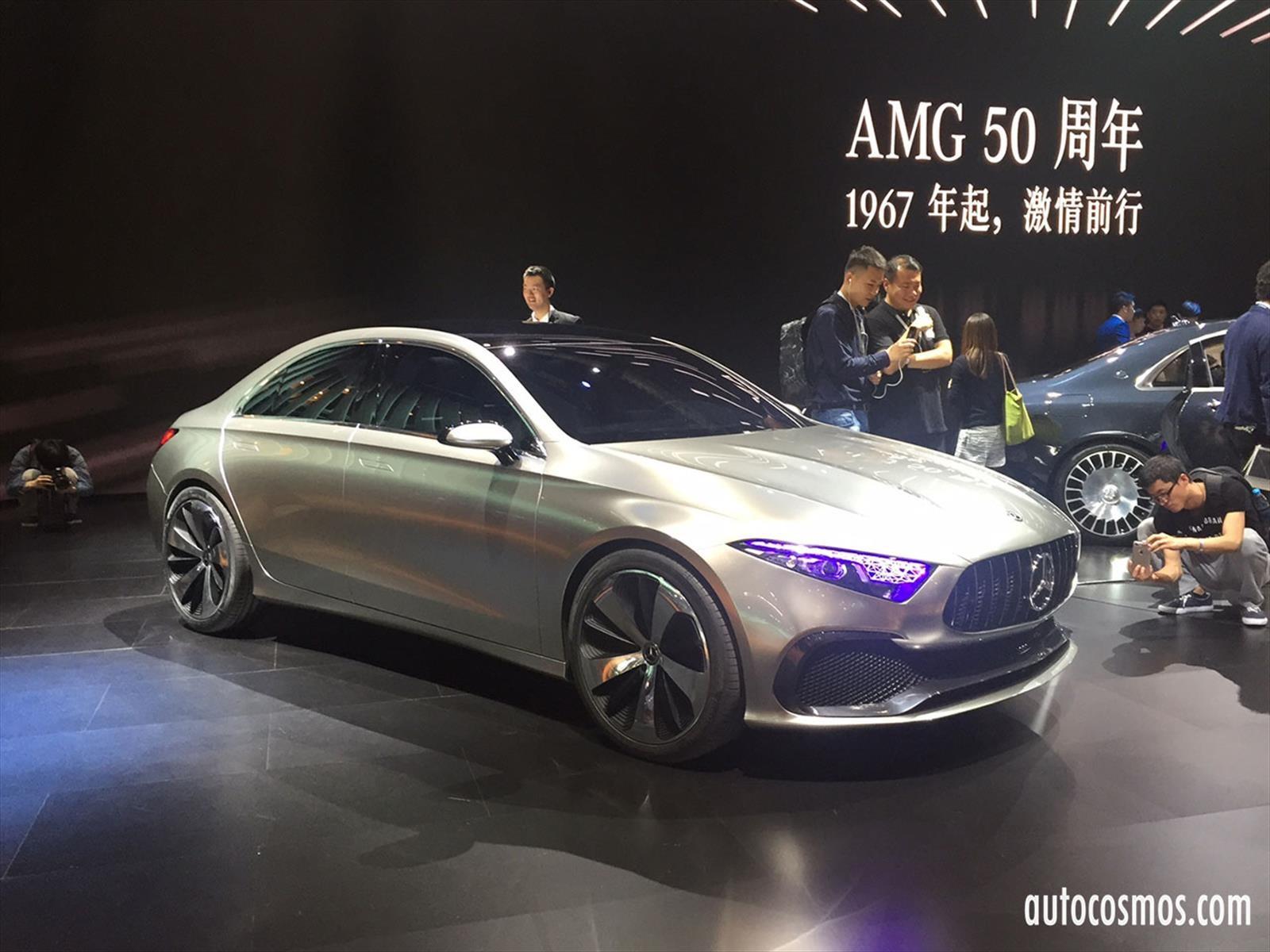 Mercedes-Benz Concept A Sedan, el futuro compacto de la marca