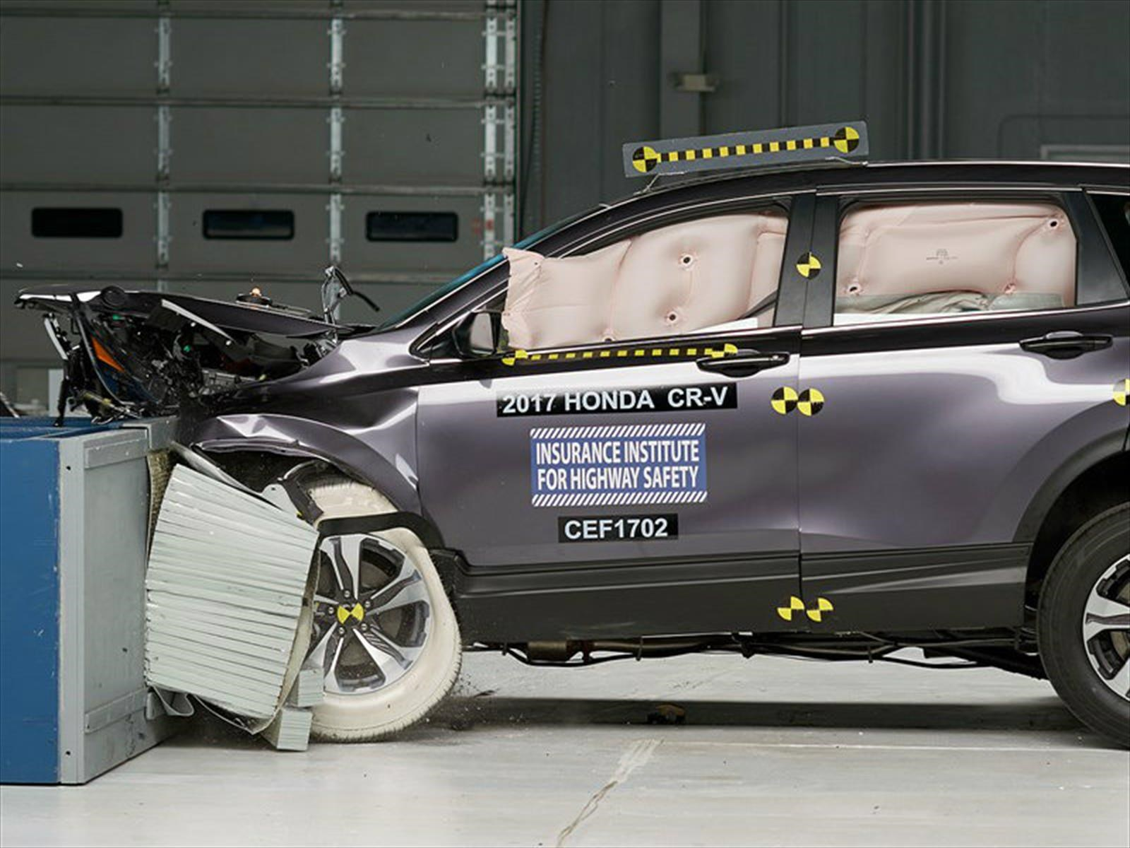 Honda CR-V 2017 galardonada con el Top Safety Pick+ del IIHS