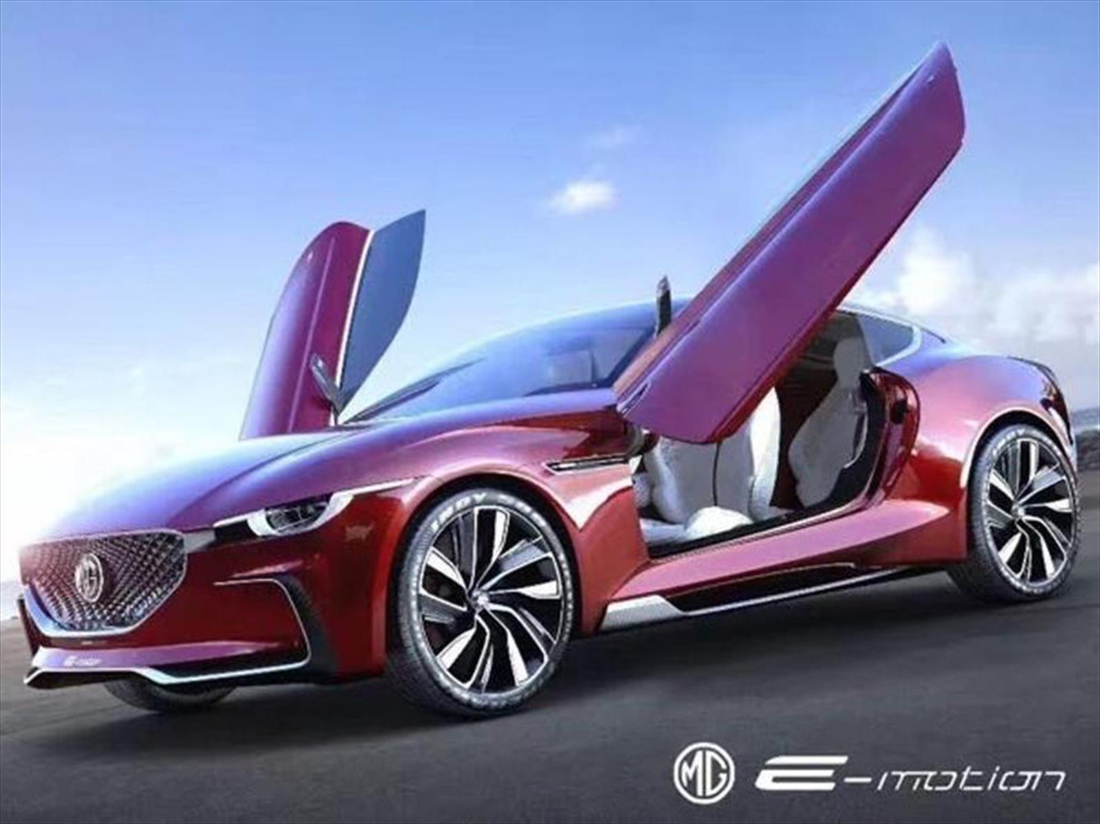 MG E-Motion Concept debuta