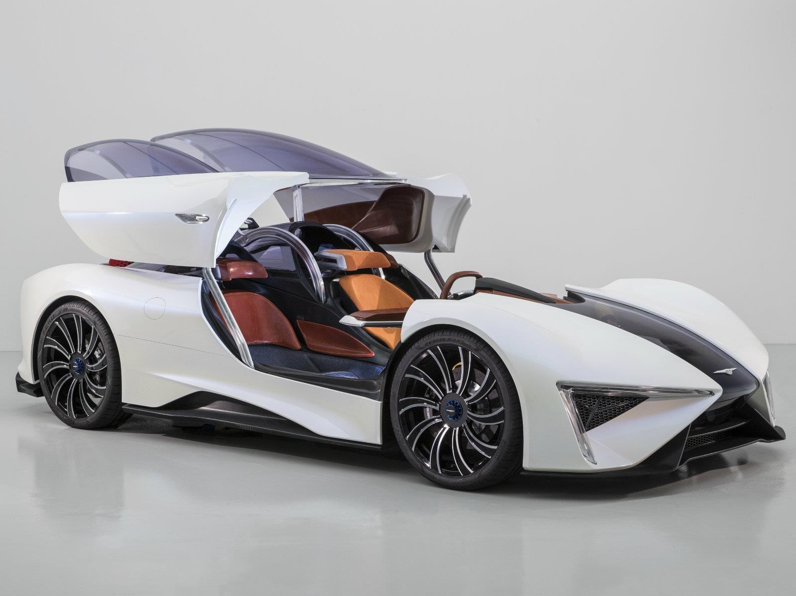 TechRules Ren, un súper auto hecho en China