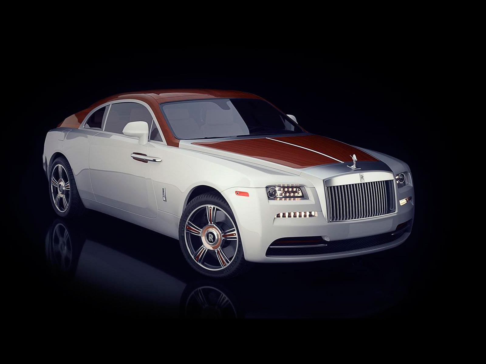 Rolls Royce Wraith Regatta, hermosa artesanía