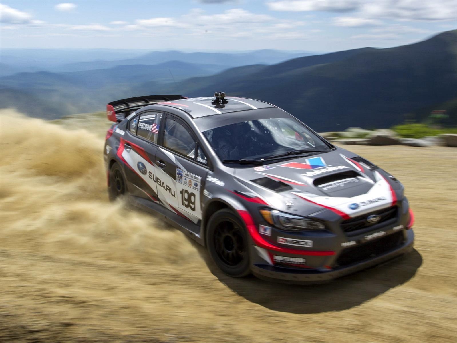 Subaru impone récord en competencia de ascenso de montaña