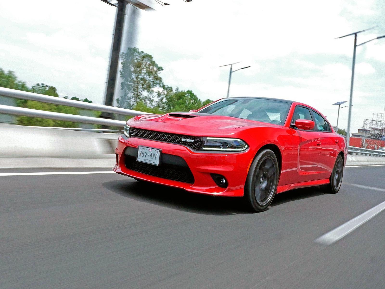 Dodge Charger Daytona 2017 a prueba