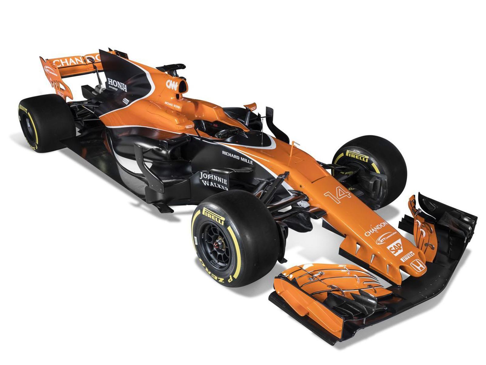 F1 2017: McLaren Honda regresa a su clásico color naranja