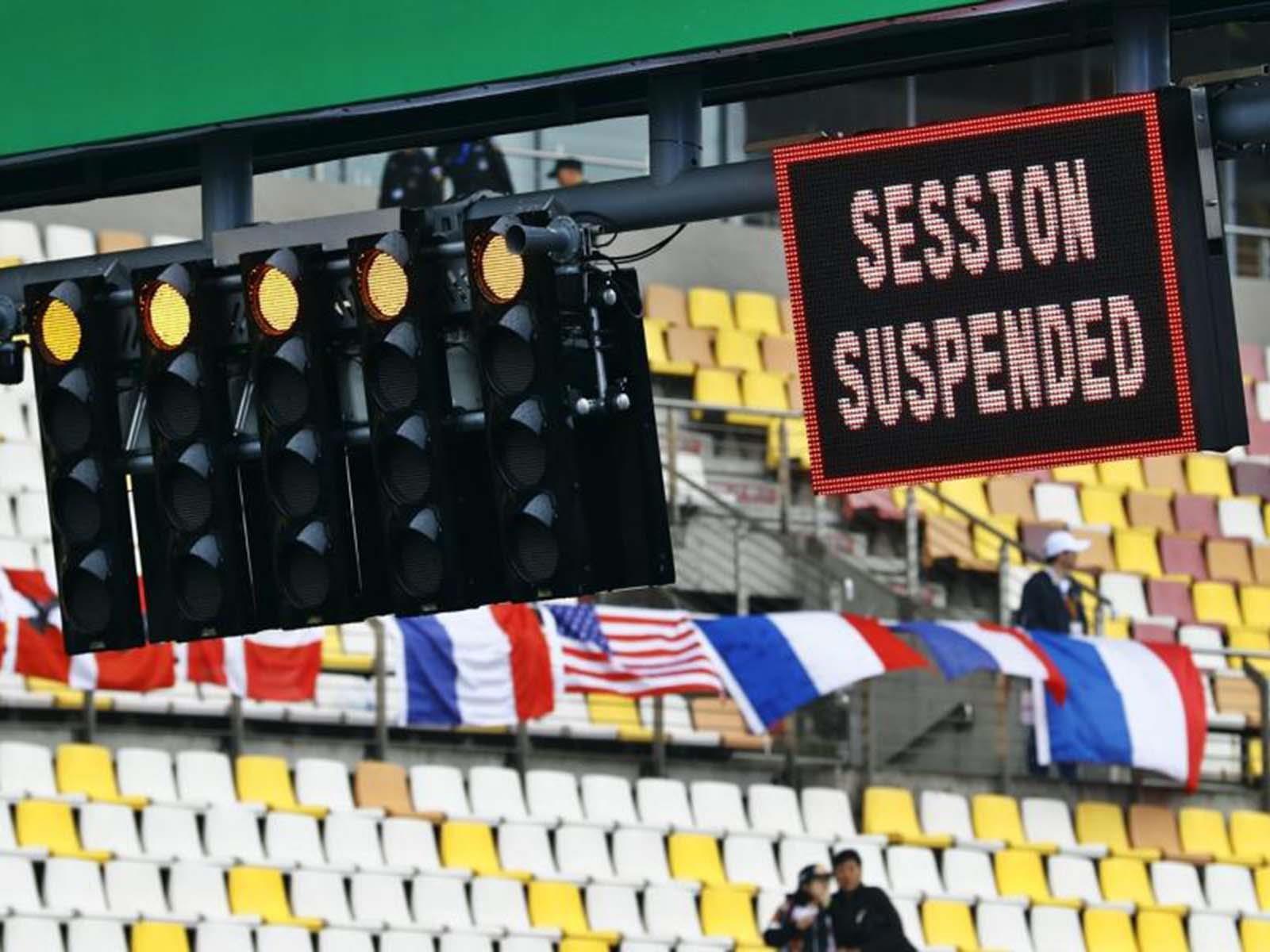 F1 2017: Alerta por el mal clima