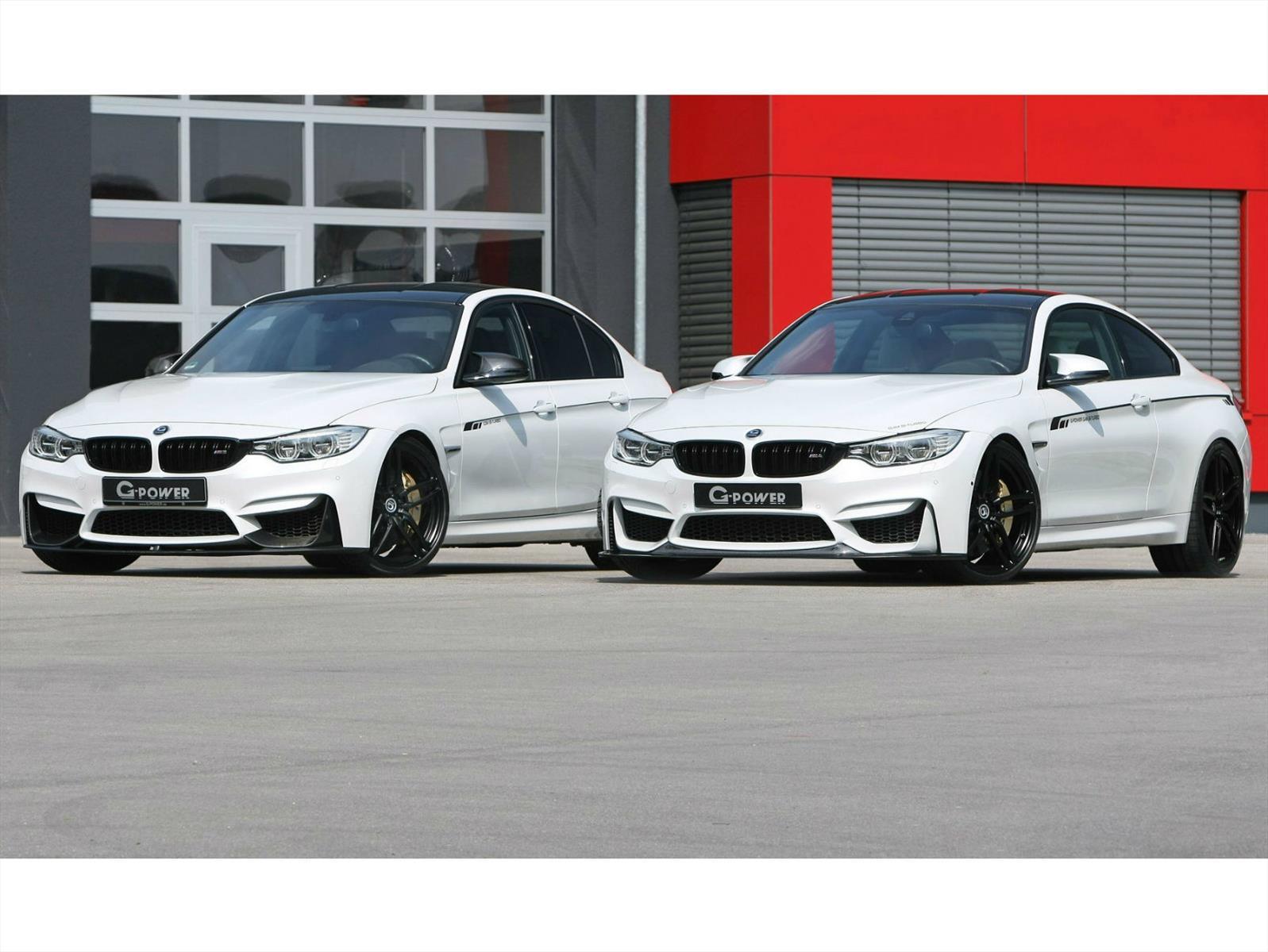 BMW M3 y M4 por G-Power, vestidos de poder