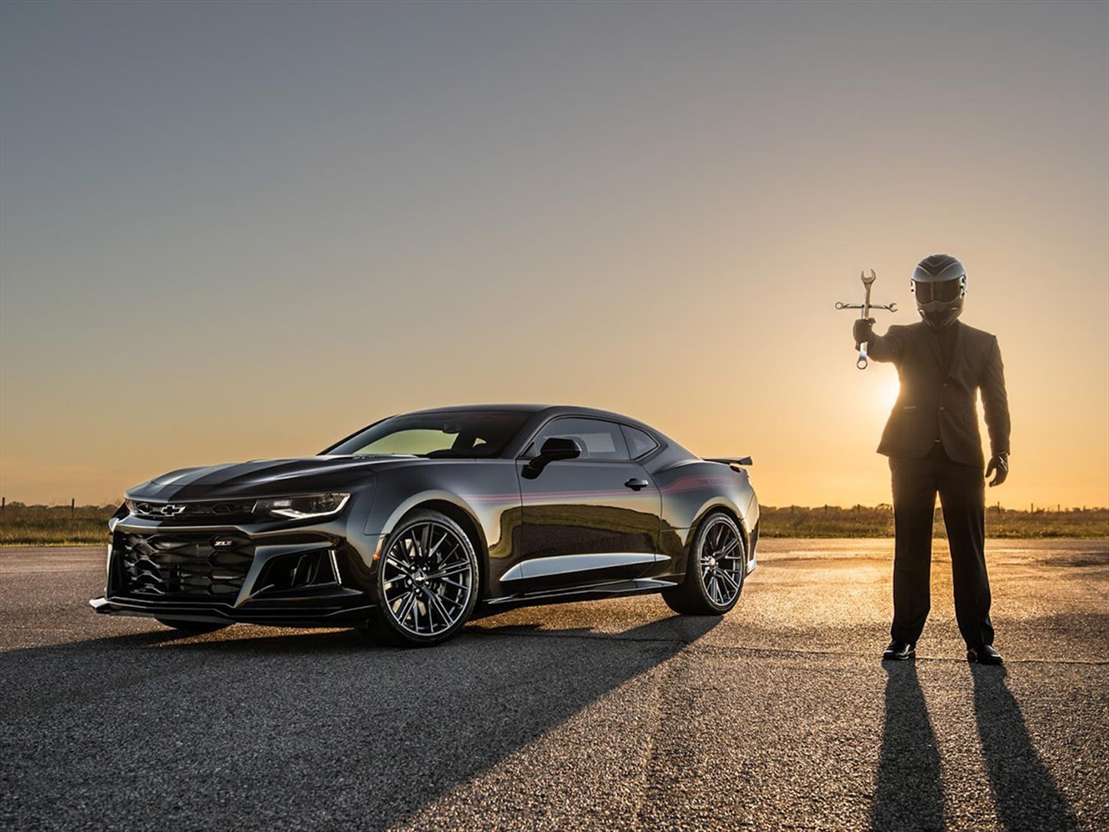 Video: Un Chevrolet Camaro ZL1 para exorcizar al Dodge Demon