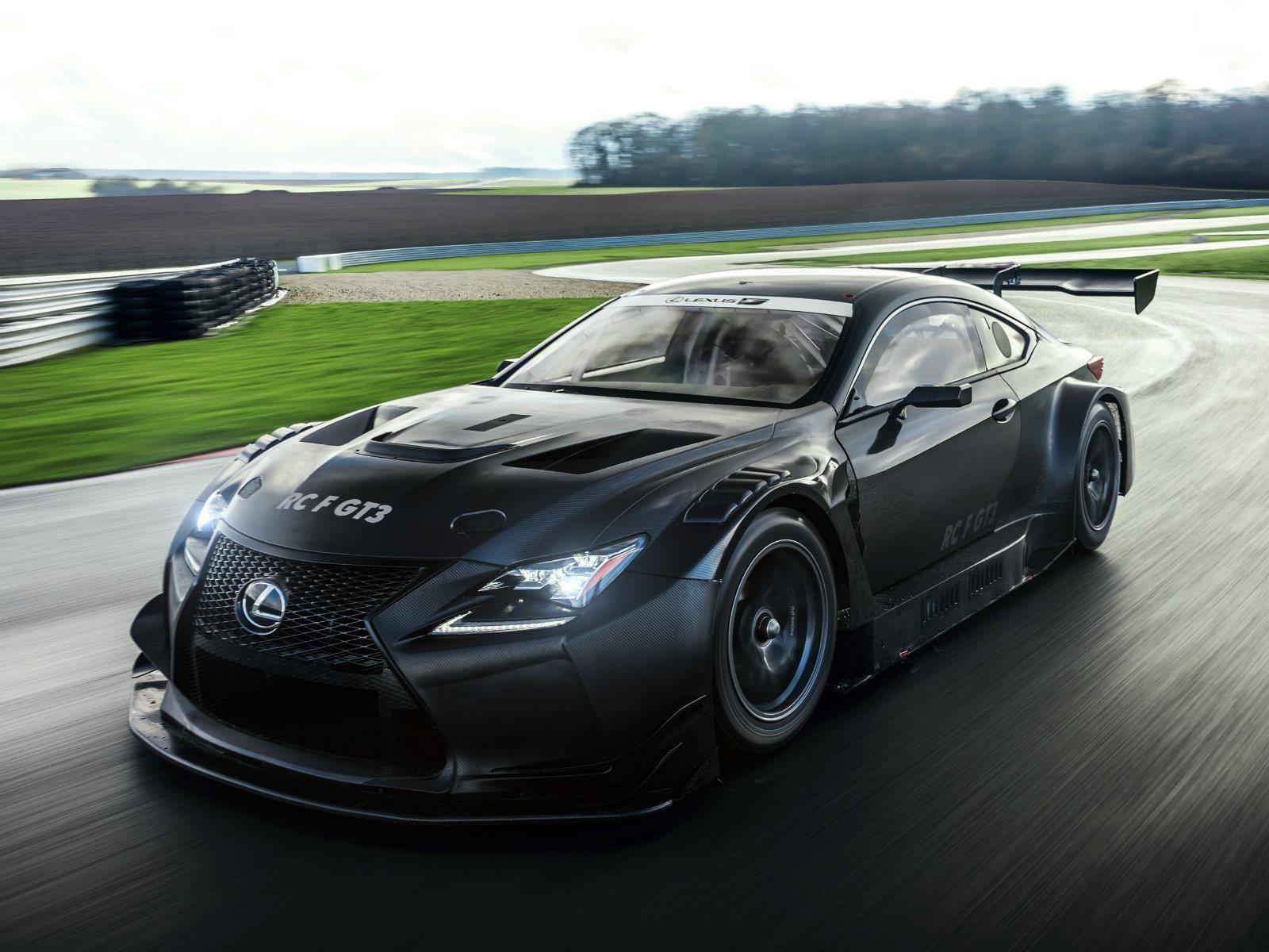 Lexus RC F GT3, listo para salir a la pista